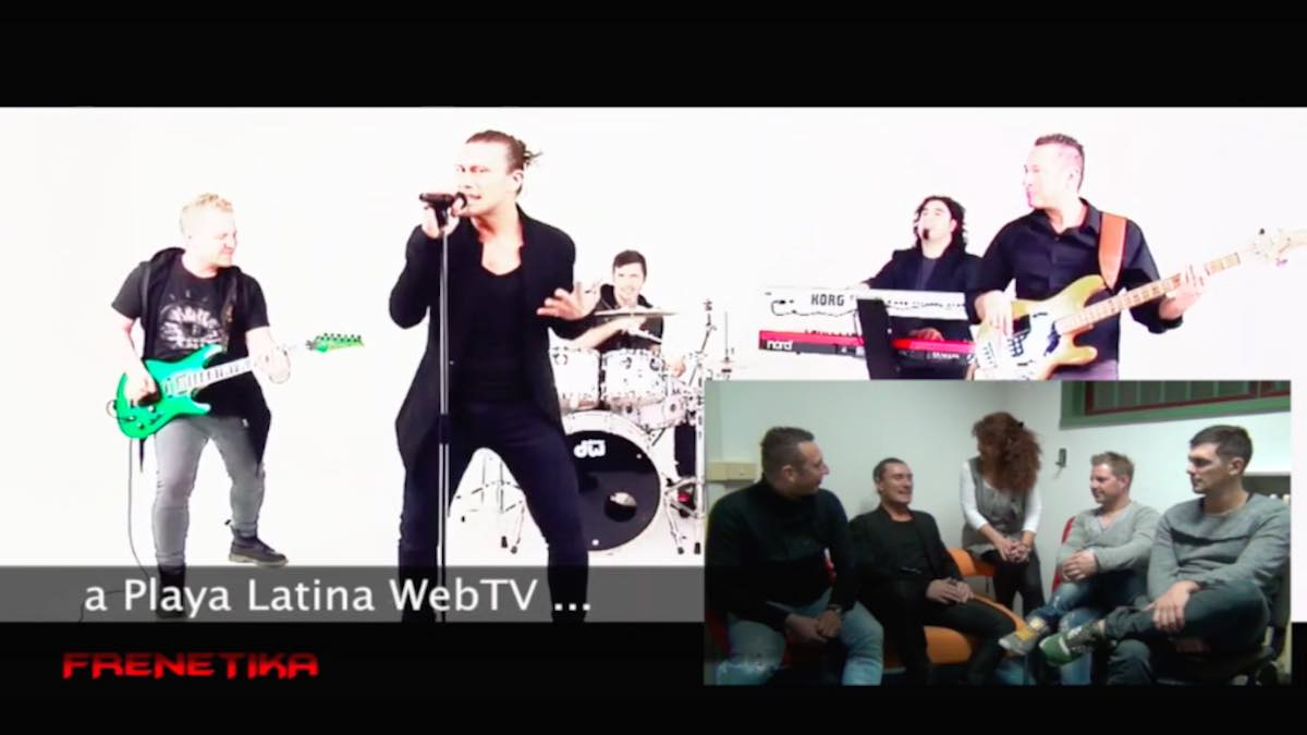 Frenetika Cover Band Note Libere Energheia WebTv Playa Latina
