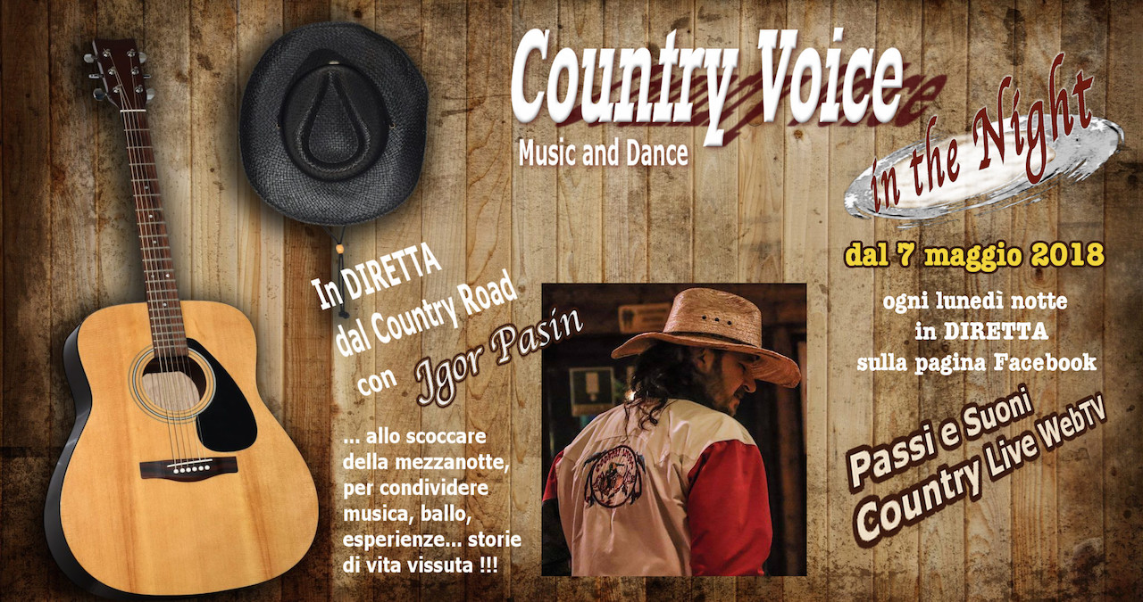 Country Voice in the night Logo Jgor Pasin Country Road logo