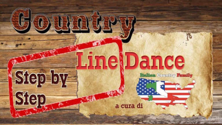 Country Line Dance step by step Marilu Teseo Country Live TV logo