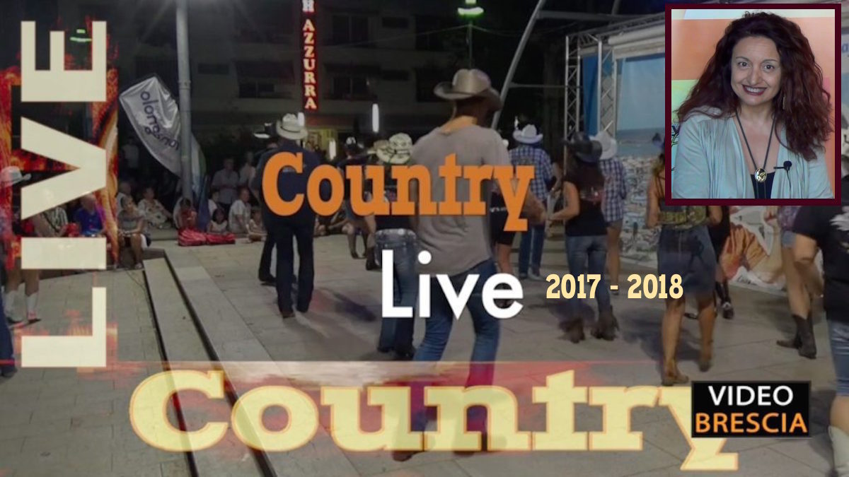 Country Live in TV stagione 2017 - 2018 Tiziana Tozzola