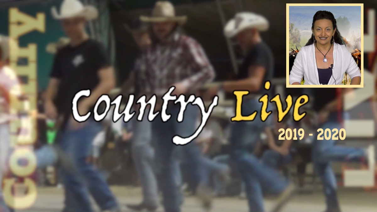 Country Live in TV stagione 2019 - 2020 Tiziana Tozzola