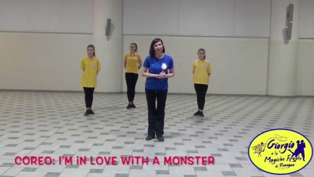 I'm in love with a monster coreografia sincro modern monica cicinelli logo