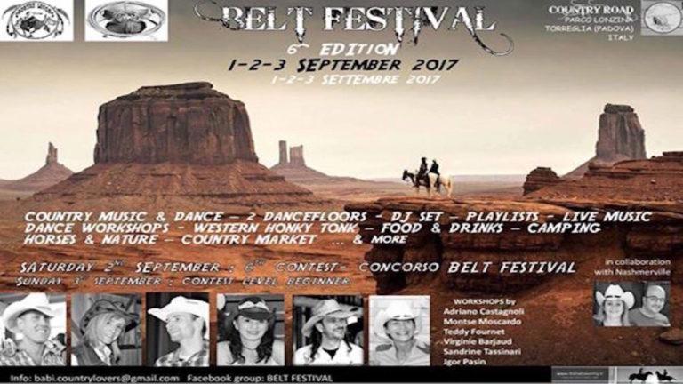 Belt Festival 2017 Country Road Country live TV tiziana tozzola