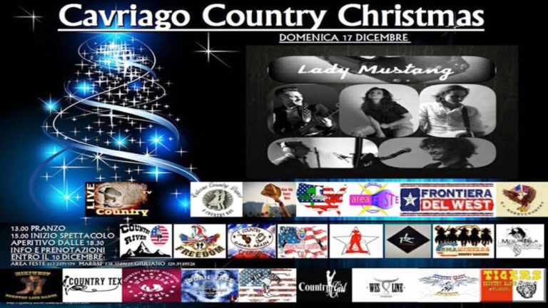 Cavriago Country Christmas 2017 country live tv tiziana tozzola