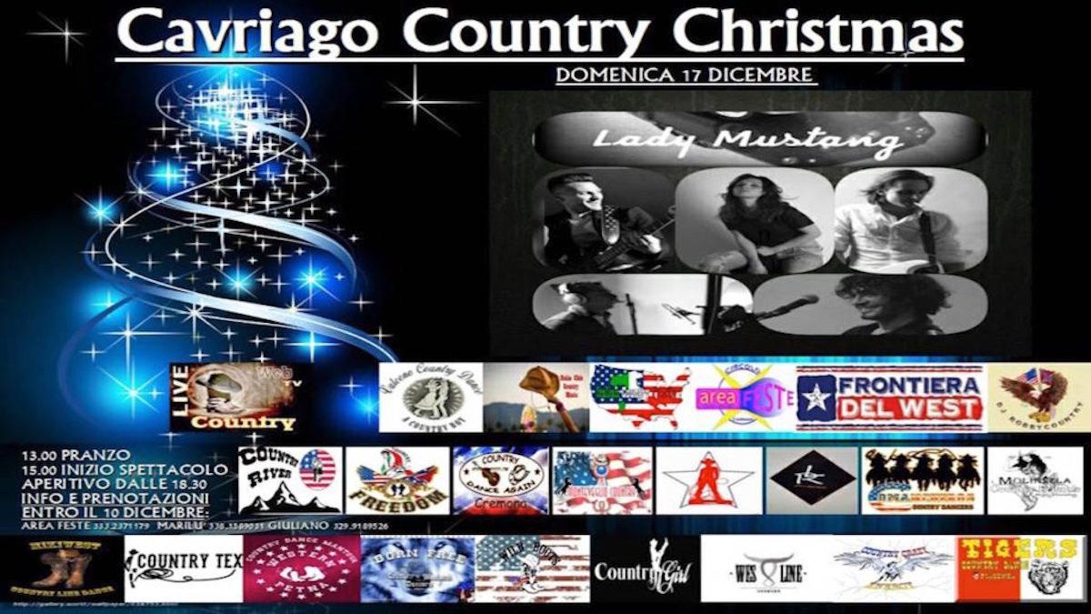 Cavriago Country Christmas 2017 country live tv tiziana tozzola