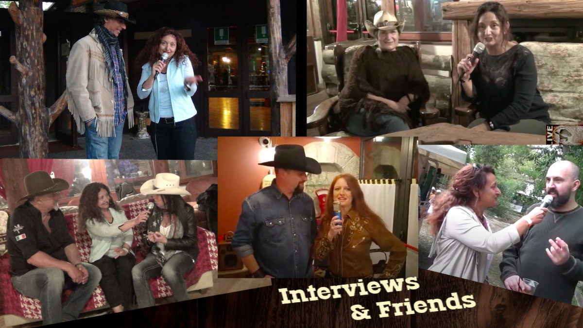 Interviews and Friends country live tv tiziana tozzola