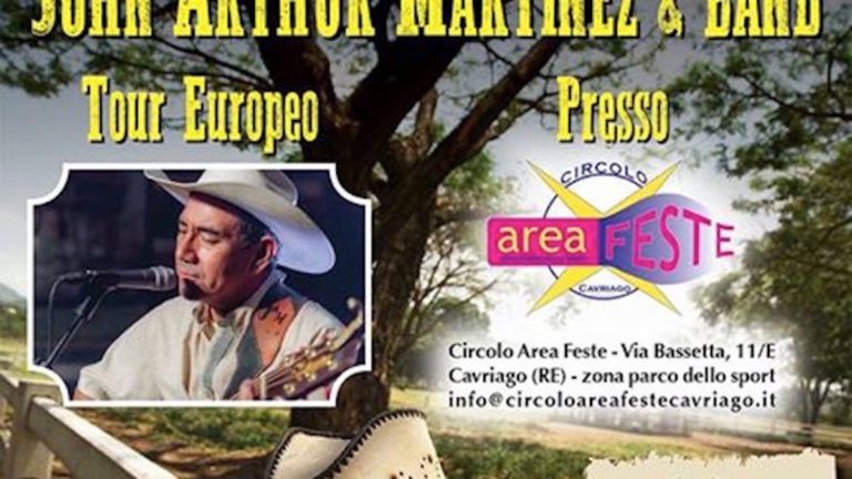 John Arthur Martinez LIVE 2017 Country live TV Tiziana Tozzola