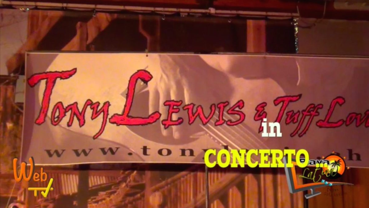 Tony Lewis e Tuff Love 2015 country live tv tiziana tozzola