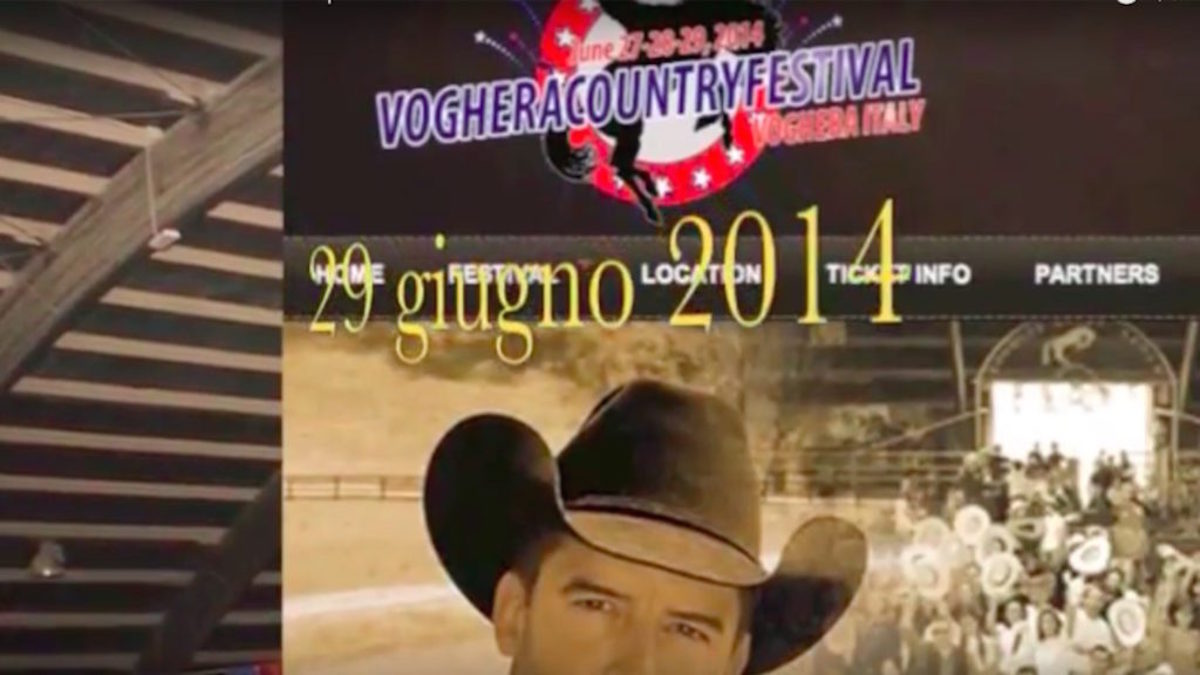 Voghera Country Festival 2014 Country Live TV Tiziana Tozzola