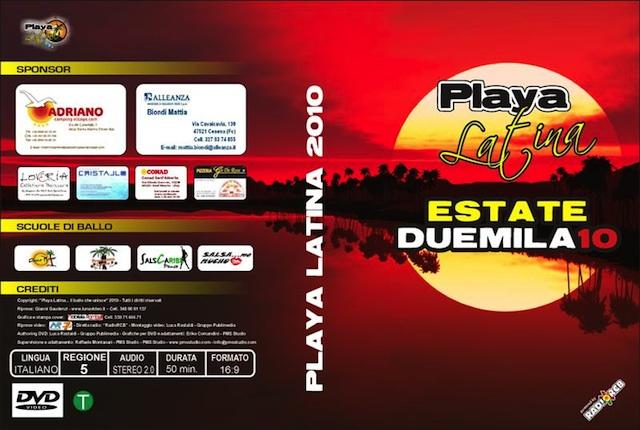 Playa Latina 2010 DVD balli Tiziana Tozzola logo