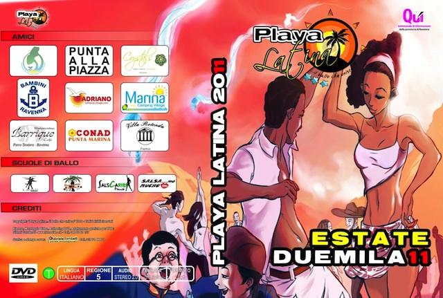 Playa Latina 2011 DVD balli Tiziana Tozzola logo
