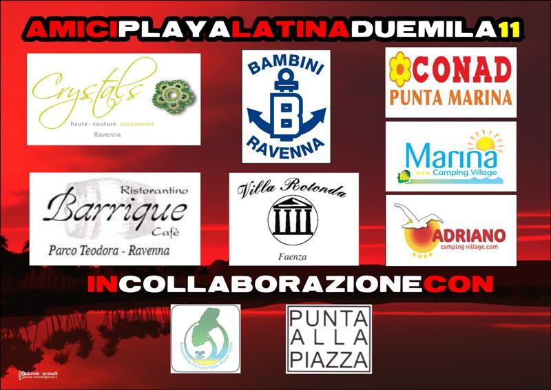 Playa Latina 2011 Tiziana Tozzola volantino 2