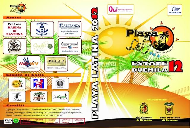 Playa Latina 2012 DVD balli Tiziana Tozzola logo