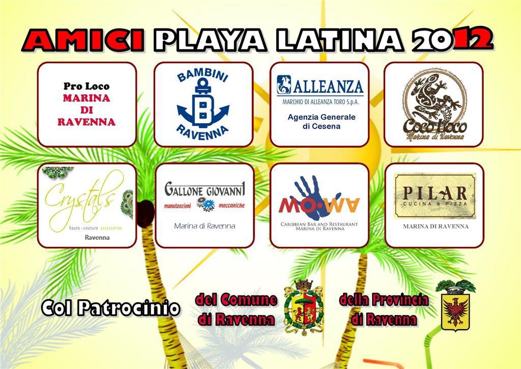 Playa Latina 2012 Tiziana Tozzola volantino 2