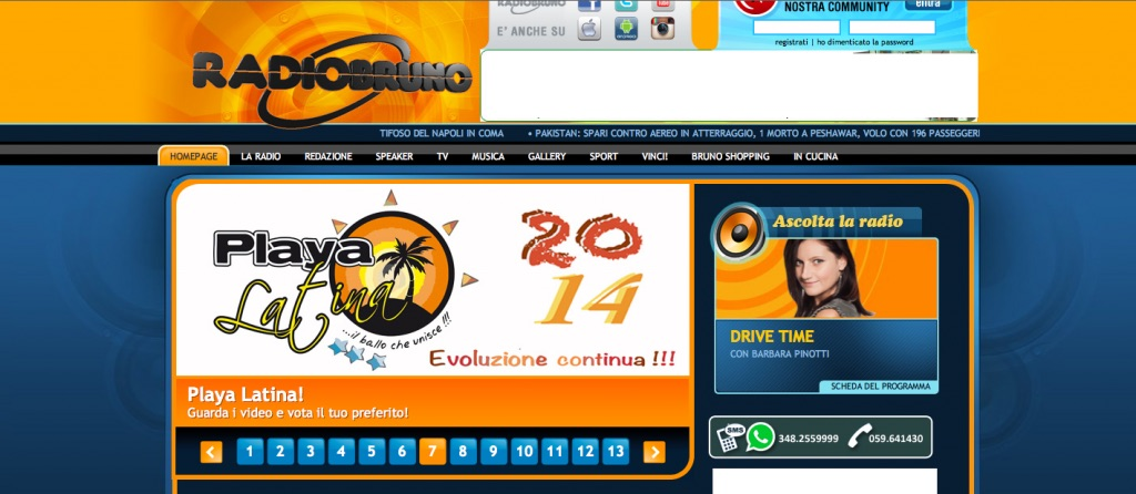 Playa Latina 2014 3 Leonello viale Radio Bruno Tiziana Tozzola 1