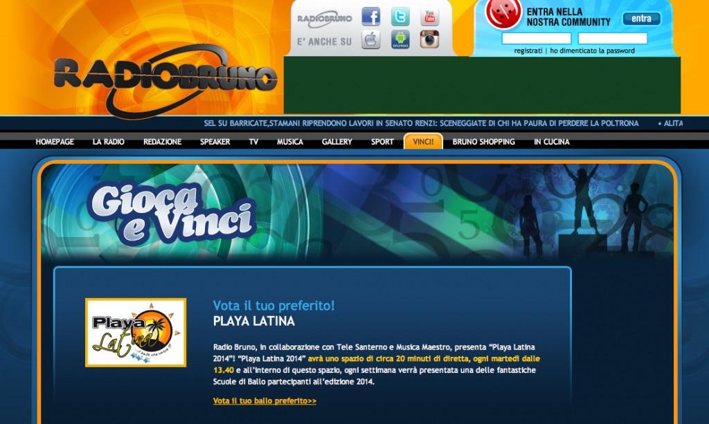 Playa Latina 2014 3 Leonello viale Radio Bruno Tiziana Tozzola 2