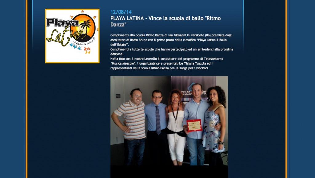 Playa Latina 2014 3 Leonello viale Radio Bruno Tiziana Tozzola 4