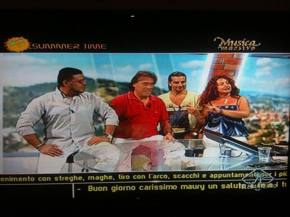 Playa Latina 2014 Caiman Tiziana Tozzola Musica Maestro Telesanterno
