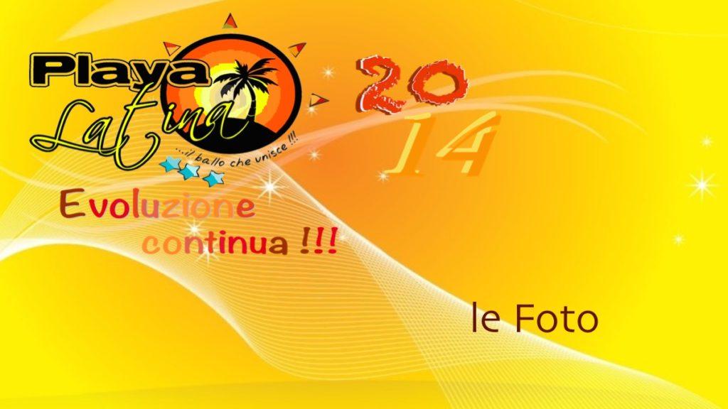 Playa Latina 2014 le foto Tiziana Tozzola logo