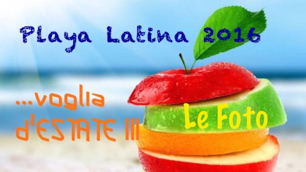 Playa Latina 2016 enerjoy Passi e Suoni TV logo