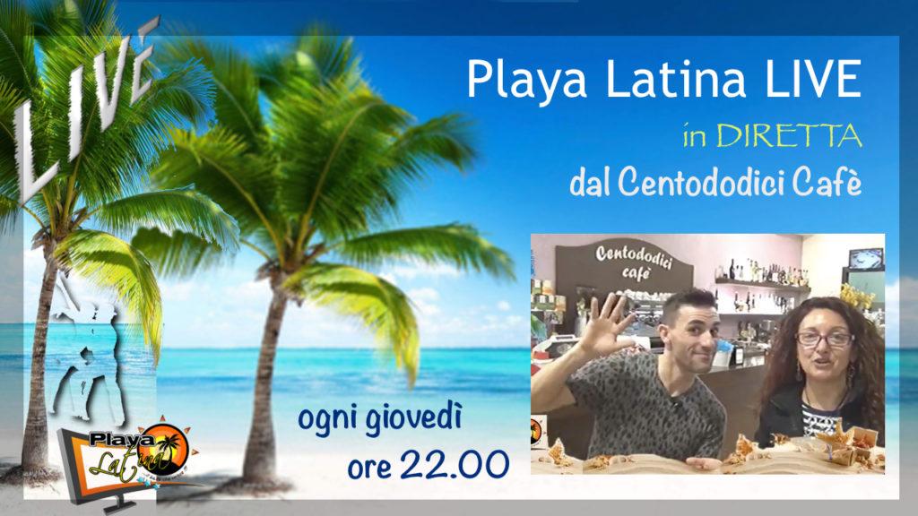 Playa Latina LIVE in DIRETTA con Omar Ravaioli Tiziana Tozzola
