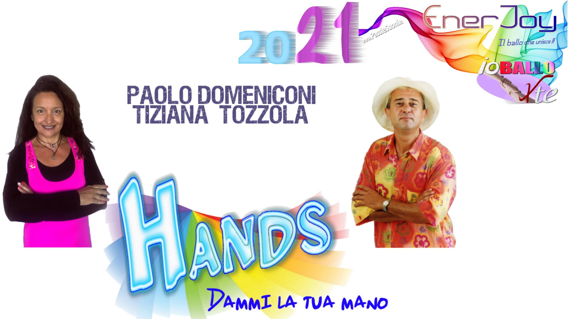 Enerjoy 2021 io ballo per te il ballo che unisce Hands dammi la tua mano 2021