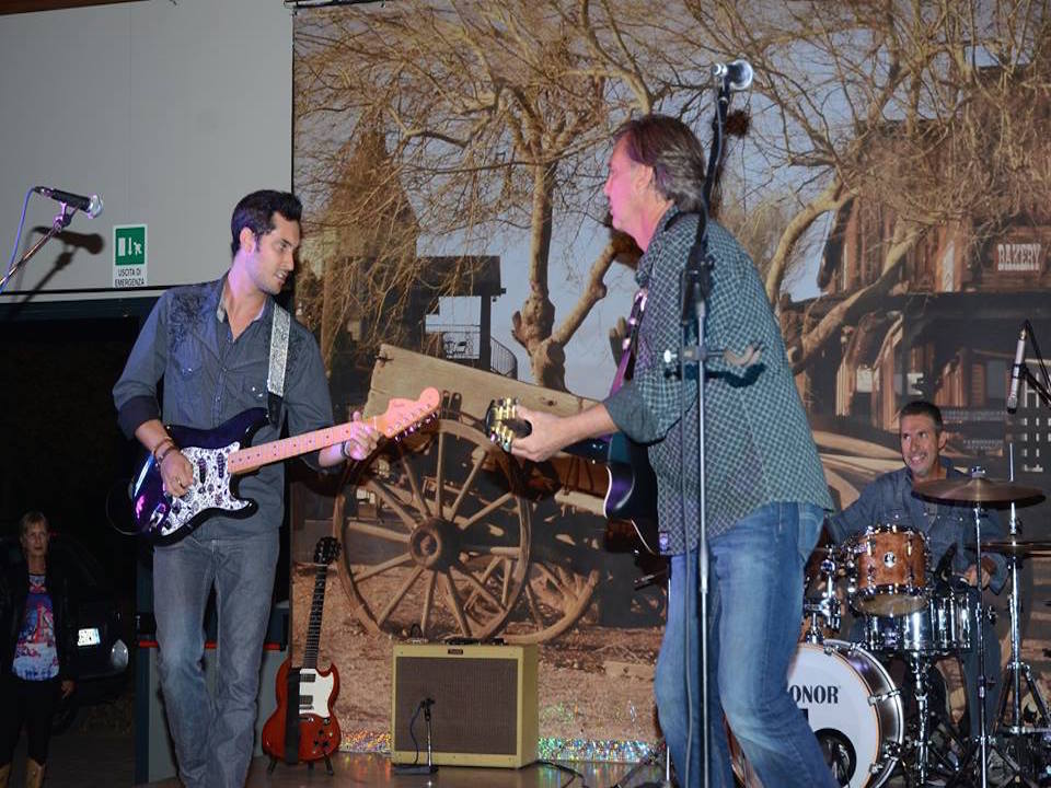 Randy Thompson Band Country Live TV tiziana tozzola